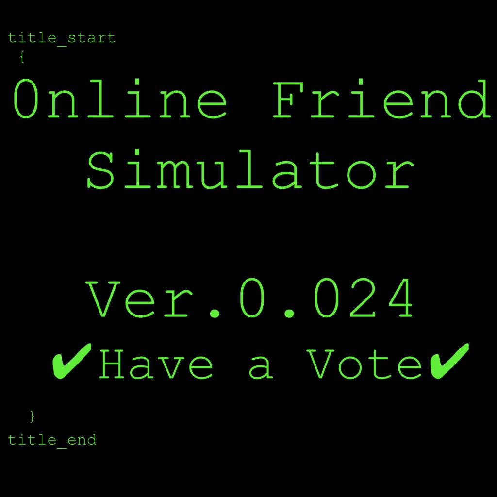 Online guy friend